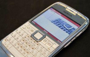 White Steel Nokia E71 by KDA