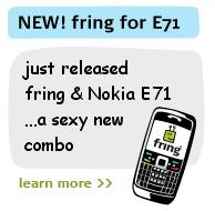 Fring for Nokia E71 from fring.com