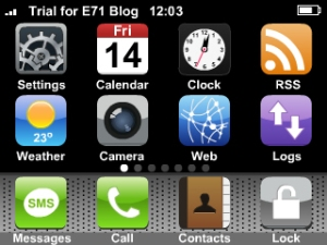MyPhone on E71
