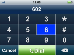Dialing with MyPhone